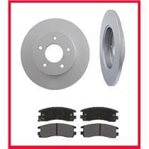 Seville Deville  Eldorado  Rr Brake Rotor Pads & Rotors