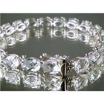 SB002, Green Amethyst, 925 Sterling Silver Bracelet