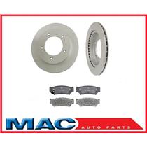 Sidekick Tracker 4 Door Front Brake Rotors & Ceramic Pads 31128 CD556