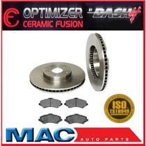 Standard 12Inch Frt Rotors 53042 Disc Brake Rotor, Dash4 CFD1273 Optimizer Pads