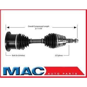 SurTrack GM-8002 CV Axle Shaft GM Truck Left or Right Axle