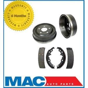 (2) 200MM 8 Inch GM Cars Rear 80008 Brake Drum -B553 Rear Shoes