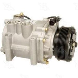 AC Compressor for 2004 2005 2006 2007 Saturn Vue 3.7L (1 Year Warranty) R197554