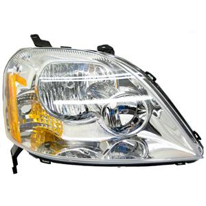 2005-2007 Mercury Montego Passenger Side Headlight (Xenon Without Ballast)