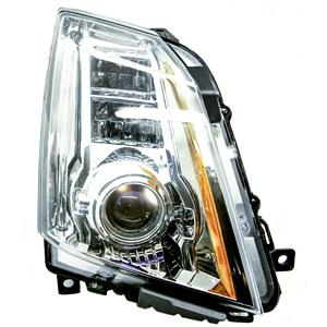 2008-2012 Cadillac CTS Passenger Side Headlight Scratched ( Without Ballast )