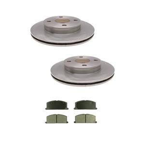 Tercel  91-98 & Paseo 96-99 Front Disc Brake Rotors & Brake Pads 3290 CD242