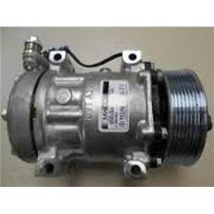AC Compressor For Sanden 4080 4377 Kenworth Peterbilt (1 Year Warranty) Reman