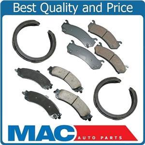 02-06 ESCALADE 4x4 Front & Rear Brake Pads CD785 CD834 B781