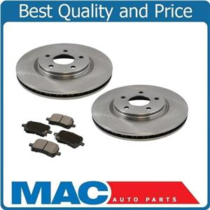 (2) 11.65 Inch Rotors With Ceramic Pads for a 07-10 Pontiac G6
