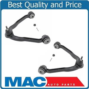 (2)  Add 2 Deg Of Offset Control Arm and Ball Joint Frt Up 99-07 Silverado 1500