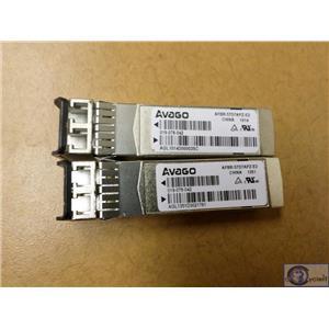 Lot of 100 Avago AFBR-57D7APZ 8GbE SFP+ SW Transceiver 850nm OEM AFBR-57D7APZ-E2