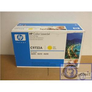 NEW HP Yellow LaserJet 4600/4610/4650 C9722A GENUINE