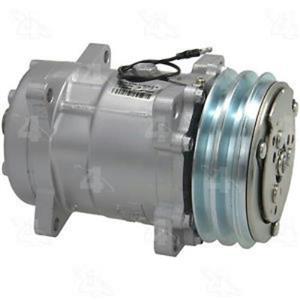 AC Compressor Four Seasons 58548 (1 Year Warranty) Reman