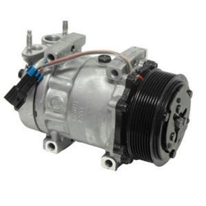 AC Compressor Four Seasons 168582, SD7H15 (1 Year Warranty) REMAN