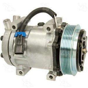 AC Compressor for Caterpillar Freightliner Kenworth (1 Yr Warranty) Reman 98597
