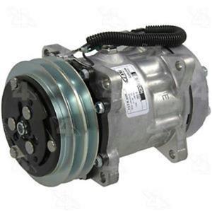 AC Compressor 4 Seasons 68170 FLX7 Double Groove (1 Year Warranty) R68170