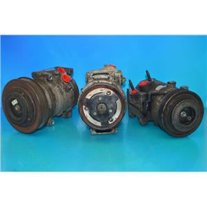 AC Compressor For Volvo 01-09/12 S60, 99-06 S80, 01-07 V70, 03-07 Xc70, (Used)