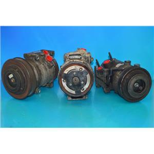 AC Compressor For 1988-1992 Mazda 626, Mx6 2.2l (Used)