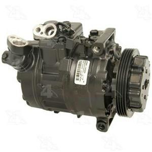 AC Compressor for BMW 545 550 645 650 745 750 760 (1 Year Warranty) R97358