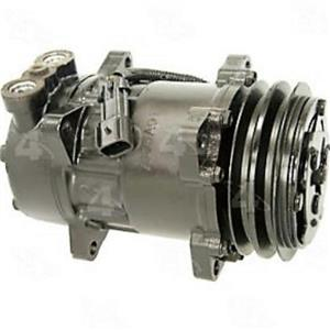AC Compressor 4s 97551 for Sanden Kenworth Peterbilt (One Year Warranty)
