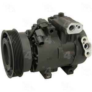 AC Compressor fits Kia Forte  Forte Koup Forte5 (1 Year Warranty) R157371