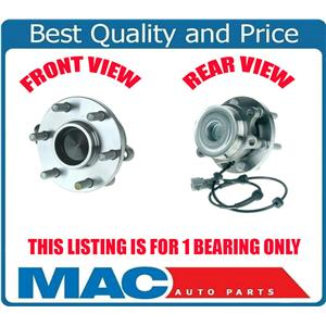 (1) 05-11 Xterra REAR WHEEL DRIVE ONLY Front Hub And Bearing and Hub Assembly