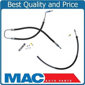 Fits For 06-07 Jeep Liberty Power Steering Pressure & Return Hoses 2Pc Kit