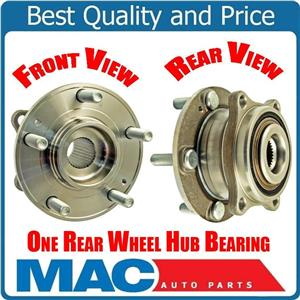 (1) 100% All New REAR WHEEL BEARING HUB For 07-12 All Wheel Drive 4x4 Santa Fe
