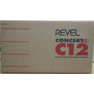 Revel Conerta C12 High Performance Center Channel Loudspeaker Open Box