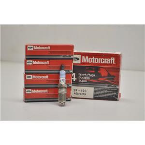 FORD MOTORCRAFT 4 pack SPARK PLUGS SP-493 AGSF32PM