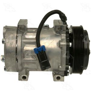 AC Compressor SD7H15 6 Groove (1 Year Warranty) Reman 98598