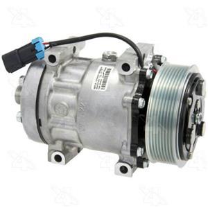 AC Compressor Sanden SD7H15 8 groove (1 Year Warranty) R58710