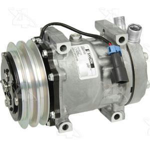 AC Compressor for Freightliner FC70 FL50 FS65 (1 Year Warranty) R58707