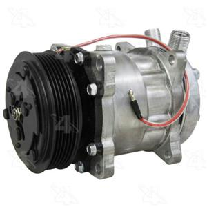 AC Compressor Sanden SD7H13 6 Groove (One Year Warranty) R158570
