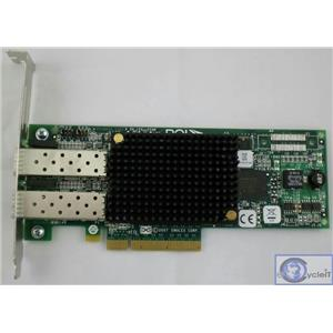 HP Emulex PCIe Dual Port 8Gb Fibre Channel HBA 489193-001 LPE12002 AJ763-630002