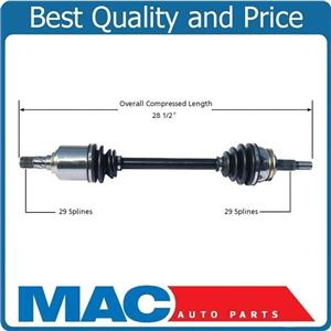 CV Axle Shaft Front Left Fits for Nissan Quest 04-06 Only W 4 Speed Transmission