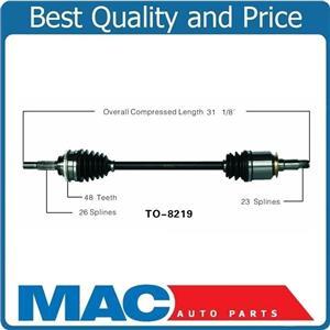 (1) 100% New REAR CV Drive Axle Shaft Fits RX330 RX350 Highlander 04-09 AWD REAR