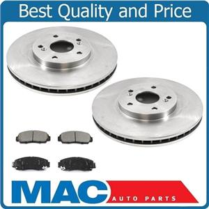 Acura 3.2TL With A/T (2) Front Brake Rotors & Ceramic Pads 31275 CD787