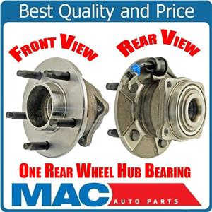 (1) 100% All New REAR WHEEL BEARING AND HUB for 04-2009 Nissan Quest Van REAR