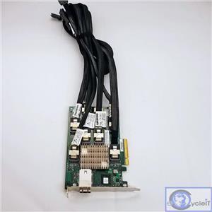 HP 24 BAY 3GB SAS EXPANDER CARD 468405-001 487738-001 With 6 X SAS CABLES