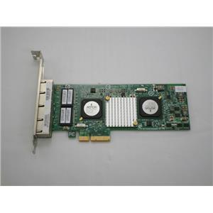 Cisco Broadcom Quad Port Gigabit PCIe NIC BCM95709A0906G High Profile 70-7069-01