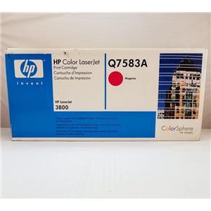 Brand New Sealed HP Magenta Print Cartridge Q7583A LaserJet 3800, CP3505