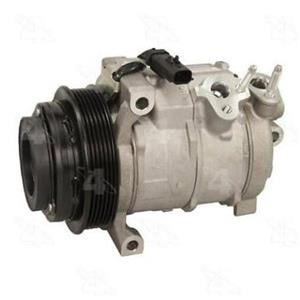 AC Compressor for Chrysler Dodge Challenger Charger Jeep (1 Yr W) New OEM 158365