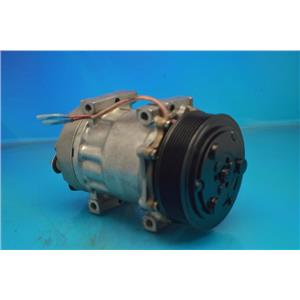 AC Compressor For Sanden 4493 4733 4892 Kenworth Peterbilt Volvo (1yr W) R98593