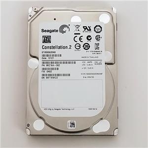 "Seagate Constellation.2 500GB 7.2K SATA 2.5"" Hard Drive ST9500620NS 9RZ164-002"
