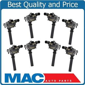 8 100% All New Ignition Coils for Dodge Ram Pick Up 1500 5.7L Hemi 2003-2005