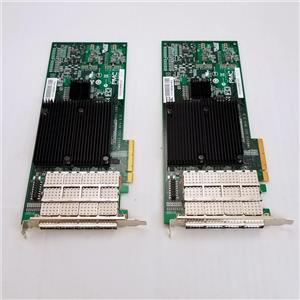 Lot of 2 NETAPP PMC-SIERRA PM8003 SCC Quad Port Network Controller 111-00341+F2