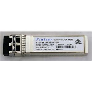 Finisar FTLF8528P2BNV-EM 8GB SFP+ Transceiver 850nm Refurbished