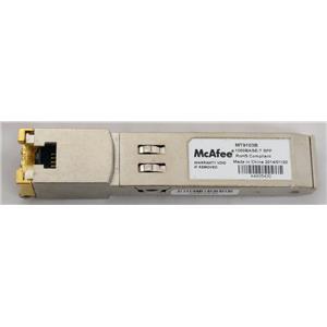 McAfee MT9103B 1000Base-T SFP Transceiver RJ-45 Ethernet Transceiver