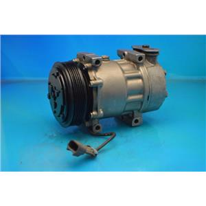 AC Compressor For Sanden 4039 4731 4424 Peterbilt Kenworth Truck (1 Y W) R78595